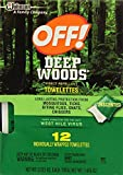 JohnsonDiversey Deep Woods Off Towelettes, 2 Pack