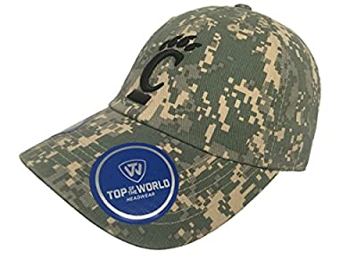 Top of the World Cincinnati Bearcats TOW Digital Camouflage Flagship Adjustable Slouch Hat Cap by Top of the World