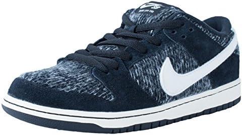 Nike Mens Dunk Low Warmth Black Ivory-Black-Hyper Grape Fabric Size