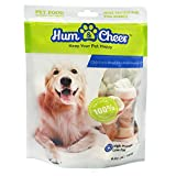 Hum & Cheer HM000085CK-250 Daily Dental Bones Chicken wrapped Rawhide Dog Treats Chews