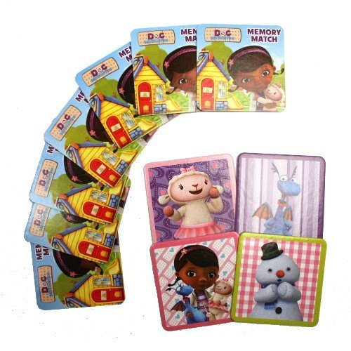 Doc McStuffins Floor Memory Match Game by Cardinal