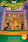 Imagination Station Books 3-Pack: Secret of the Prince's Tomb/Battle for Cannibal Island/Escape to the Hiding Place (AIO Imagination Station Books)