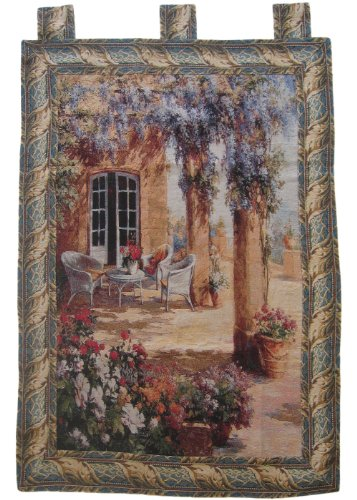DaDa Bedding WH-11997 Quiet Evening Woven Tapestry Wall Hanging, 36 by 49-Inch
