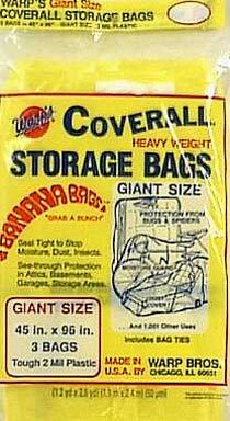 Warp's Storage Bag Banana Bag Giant Yellow 45