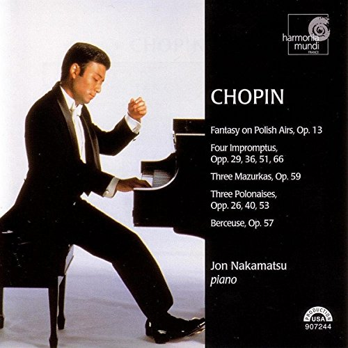 Chopin: Fantasy on Polish Airs, Op. 13 / Four Impromptus, Opp. 29, 36, 51, 66 / Three Mazurkas, Op. 59 / Three Polonaises, Opp. 26, 40, 53 / Berceuse, Op. 57