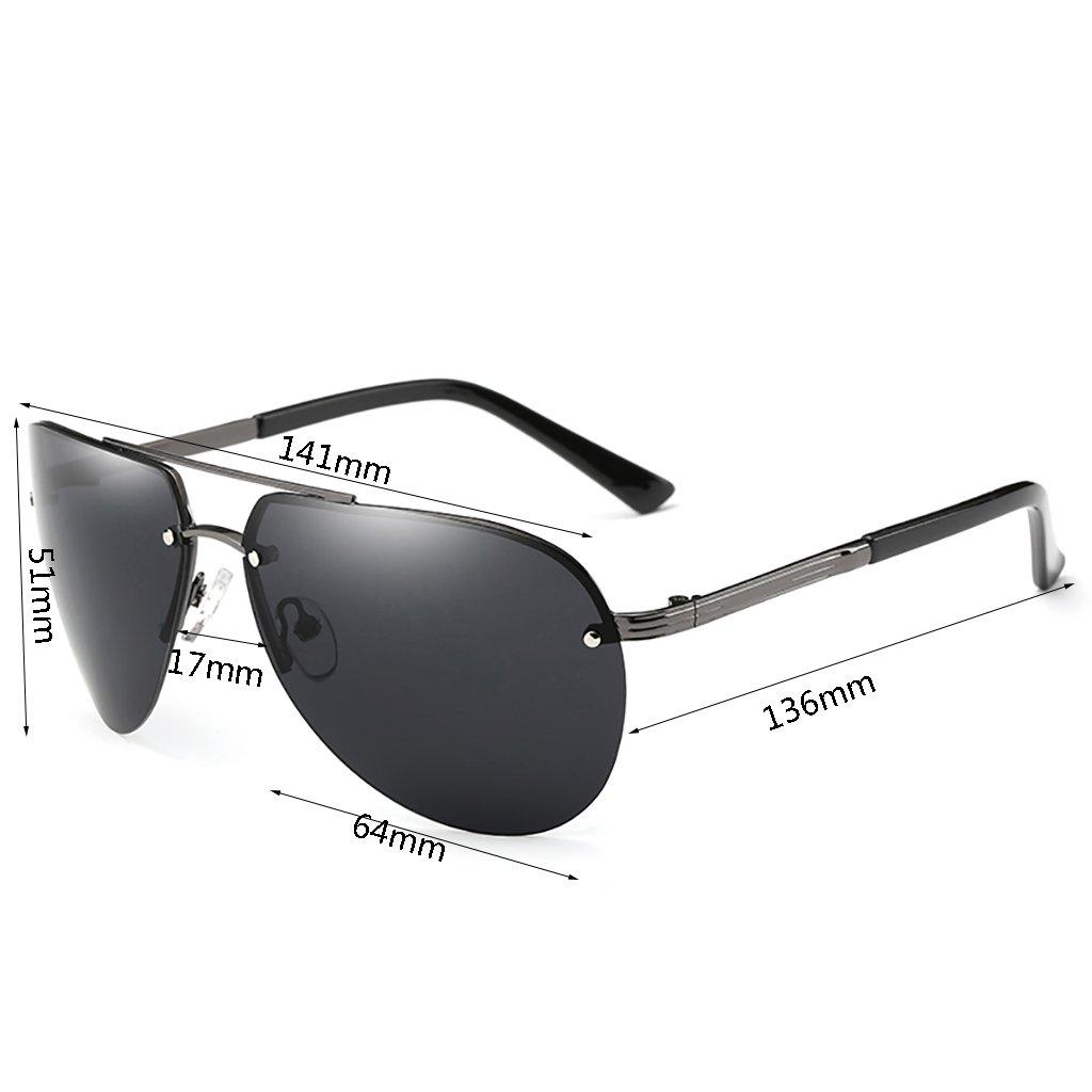 YGyanjing Moda Gafas Caliente polarizadas Gafas de Sol Gafas ...