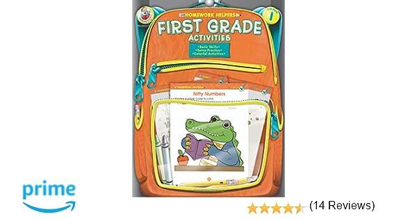 First Grade Activities Homework Helper: Frank Schaffer ...