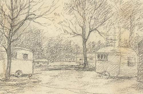 Marcus Algernon Adams (1875-1959) - Three Graphite Drawings, Bodmin Moor