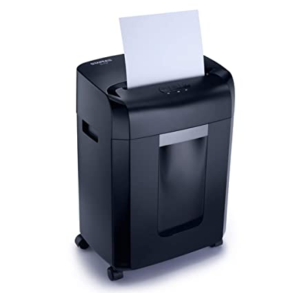 Guillotinas Trituradora Trituradora de Papel para Documentos Trituradora de Gran Capacidad 16L Office 250W Trituradora eléctrica