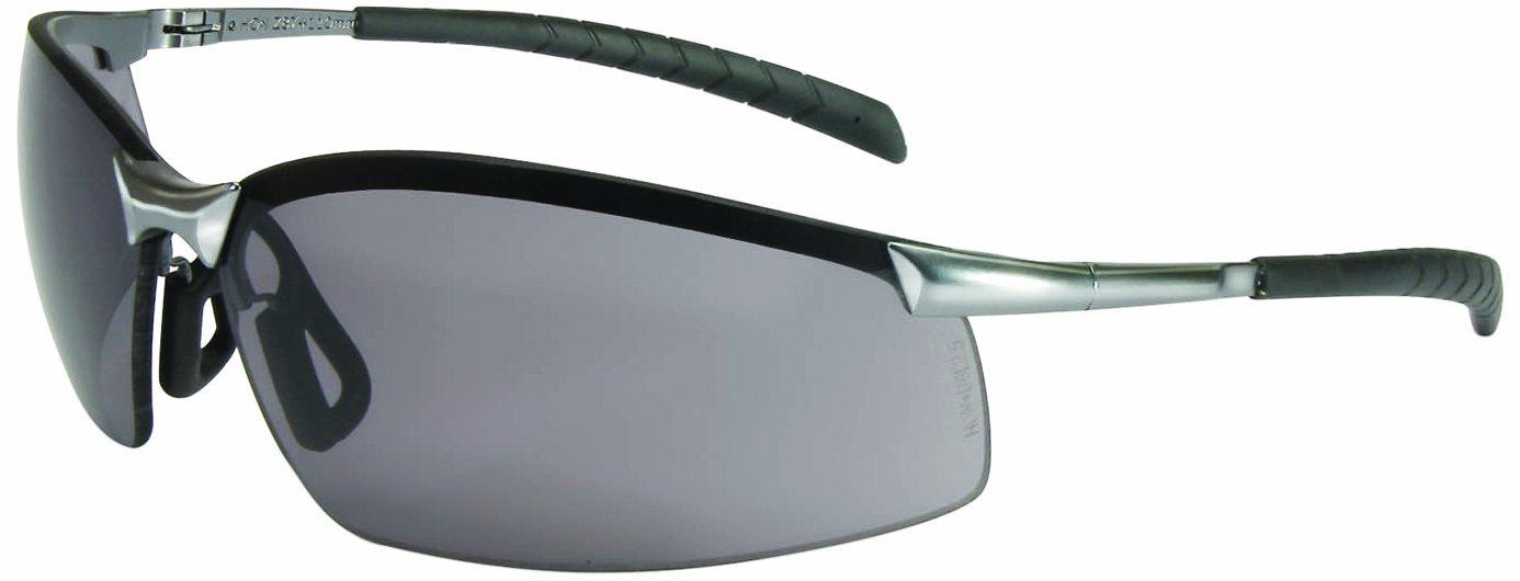 North by Honeywell A1301 GX-8 Series Safety Eyewear, Brushed Steel