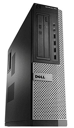 Dell OptiPlex 790 DT Quad Core i5-2400 8GB 256GB SSD DVDRW WiFi Windows 10 Professional 64-Bit Desktop PC Computer…
