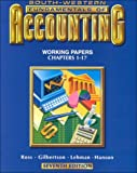 Fundamentals of Accounting : Application Course, Ross, Gilbertson, Lehman and Hanson Staff, 0538718773
