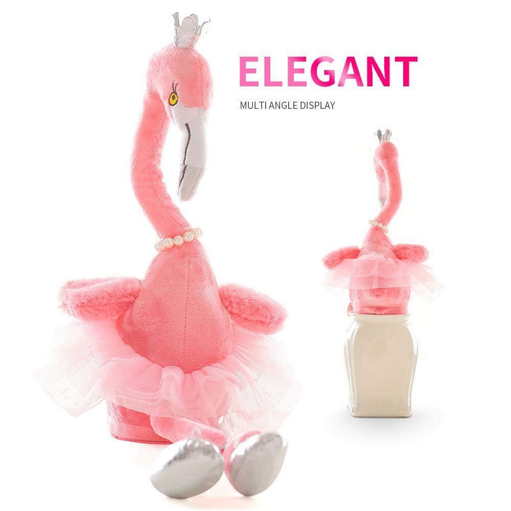Electric Flamingo Stuffed Animal Plush Toy Singing Dancing Flamingo Plush Toys