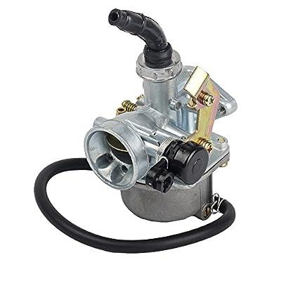 HIFROM(TM) PZ19 PZ 19 mm Cable Choke Carburetor carb for 90cc 110cc 125cc ATV Quad dirt bike TaoTao Sunl: Automotive