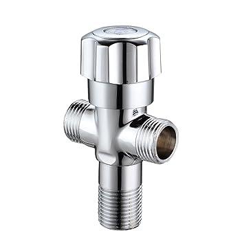 sunaix solid brass shower arm diverter shower system tvalve universal component - Shower Diverter Valve