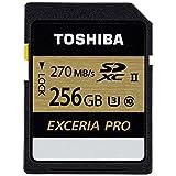 Toshiba Exceria Pro - N501 SD Memory Card UHS-II U3 Class 10 (OEM Pack) (256GB)