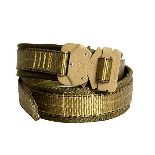 Triple Rigging (Fusion Tactical Military Police Trouser Belt Coyote Brown Large 38-43