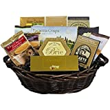 With Heartfelt Sympathy Gourmet Food Gift Basket – Medium SUMMER