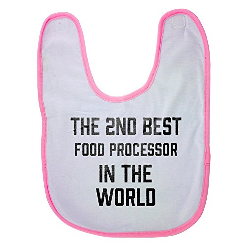 Price comparison product image Pink Baby Bib With THE 2ND BEST Food Processor IN THE WORLD Baby Boy Bibs,  Dribble Bibs,  Cool Baby Boy Bibs,  Best Baby Bibs,  Best Bibs,  Best Dribble Bibs,  Best Baby Bibs For Drooling,  Cute Baby Bibs