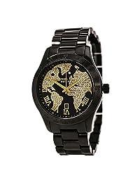 Michael Kors Men's Layton MK6091 Black Stainless-Steel Swiss Quartz Watch