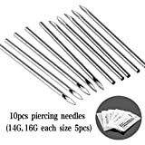 Unihubys Piercing Kit - 55PCS Professional Body