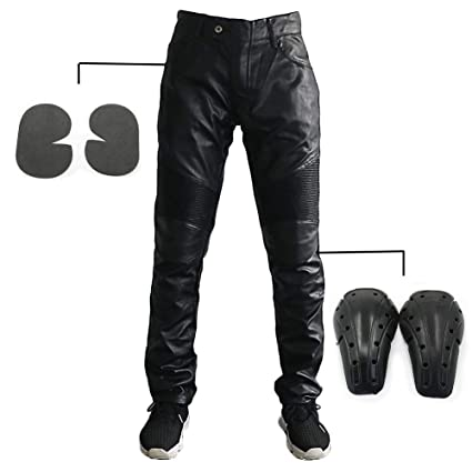 77ae39a9 Alpha Rider MOTORCYCLE JEANS With Standard Protective gear PAD DENIM BIKER  Black MOTO PANTS COMBAT PANTS