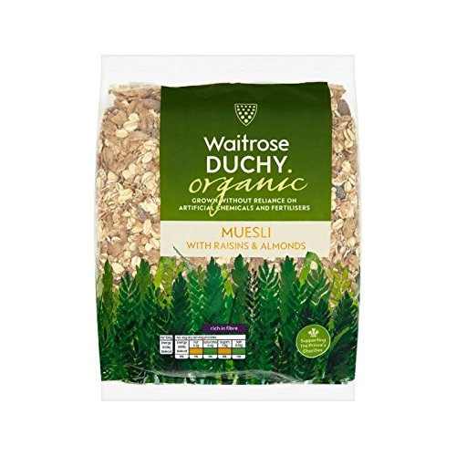 Duchy Waitrose Organic Fruit & Nut Muesli 750g - Pack of 6 by Duchy from Waitrose