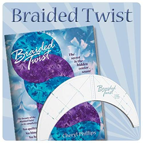 Braided Twist Tool and Book Combo by Phillips Fiber Art ()
