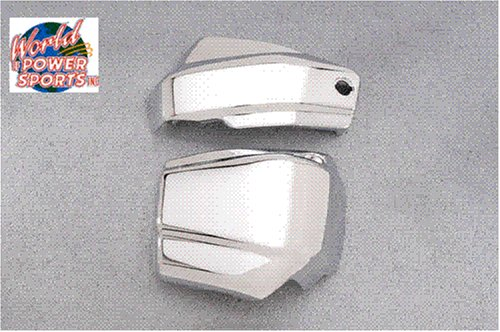 YAMAHA V STAR 650 CLASSIC CUSTOM CHROME BATTERY SIDE COVERS VSTAR