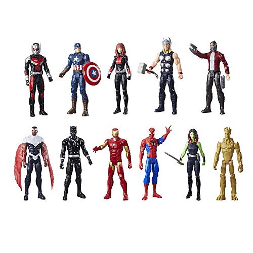 marvel action figure pack - 3