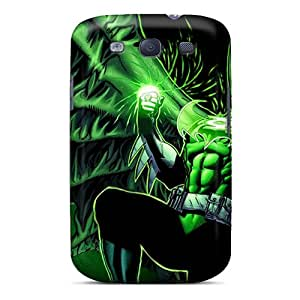 New Lantern Batman Tpu Case Cover, Anti-scratch WyZiEFU7286QTefu Phone Case For Galaxy S3