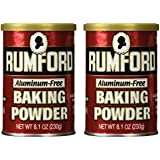 Rumford Baking Powder, 8.1 oz (Pack of 2)