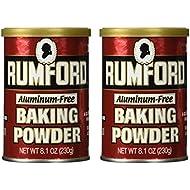 Rumford Baking Powder, 8.1 oz (Pack of 2)