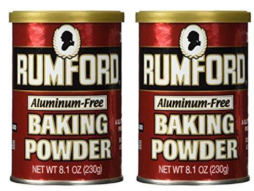 Rumford Baking Powder, 8.1 oz (Pack of (Free Baking Powder)
