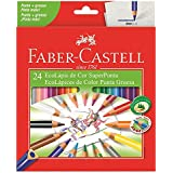 Lápis de Cor 24 Cores Super Ponta - Faber Castell