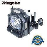 Mogobe ET-LAD60 Compatible Projector Lamp with Housing for ET-LAD60AW PANASONIC PT-D5000S PT-D6000S PT-D6000ELK PT-D6000ULS PT-D6710 PT-DW530 PT-DW6300S PT-DW730S PT-DW730LS PT-DW730K PT-DW730LK PT-DW730ELS PT-DW730ES PT-DW730U PT-DX500E PT-DX800S PT-DX800K PT-DZ570 PT-DZ570E PT-DZ6700 PT-DZ6710E PT-DZ770E PT-DZ770EL PT-DZ770K