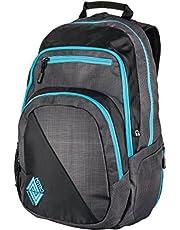 Stark reduziert: Nitro Stash Rucksack, Schulrucksack, Schoolbag, Daypack,  Blur-Blue Trims, 49 x 32 x 22 cm, 29 L, und mehr