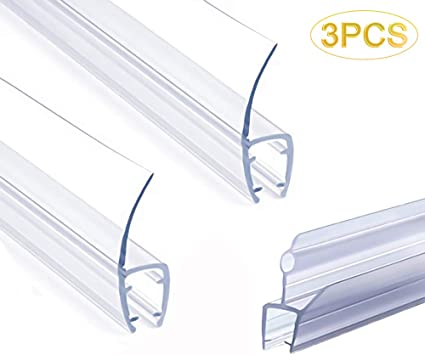 Frameless Shower Door Seal Strip Weather Stripping Seal Sweep