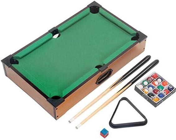 CLX Billar Mini Mesa de futbolín, Tischkicker Conjunto de Juegos de Interior y al Aire Libre para los niños,Verde: Amazon.es: Deportes y aire libre