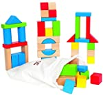 Hape HAP-E0409 Maple Block Set (50 Pi...
