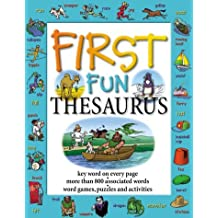 First Fun Thesaurus by Cindy Leaney (2002-07-25)