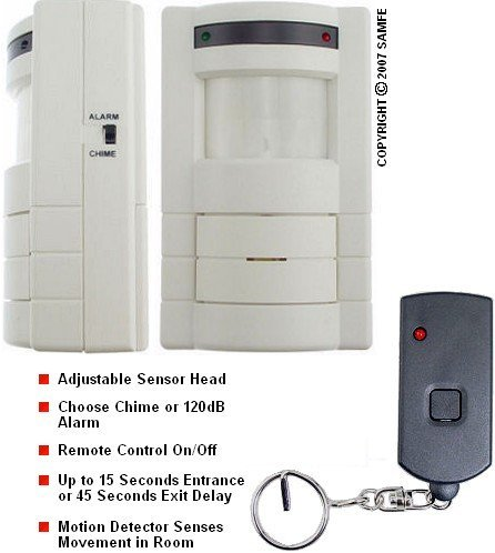 Wireless Motion Detector w/ Remote