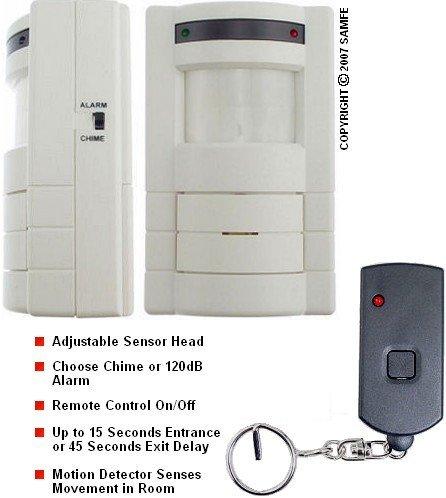 Wireless Motion Detector w/ Remote