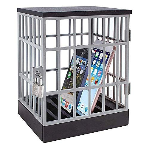 Mobile Phone Jail Cell Prison Lock Up Safe Smartphone Home Table Office Gadget