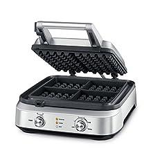 Breville BWM604BSS the Smart Waffle Batter, Silver