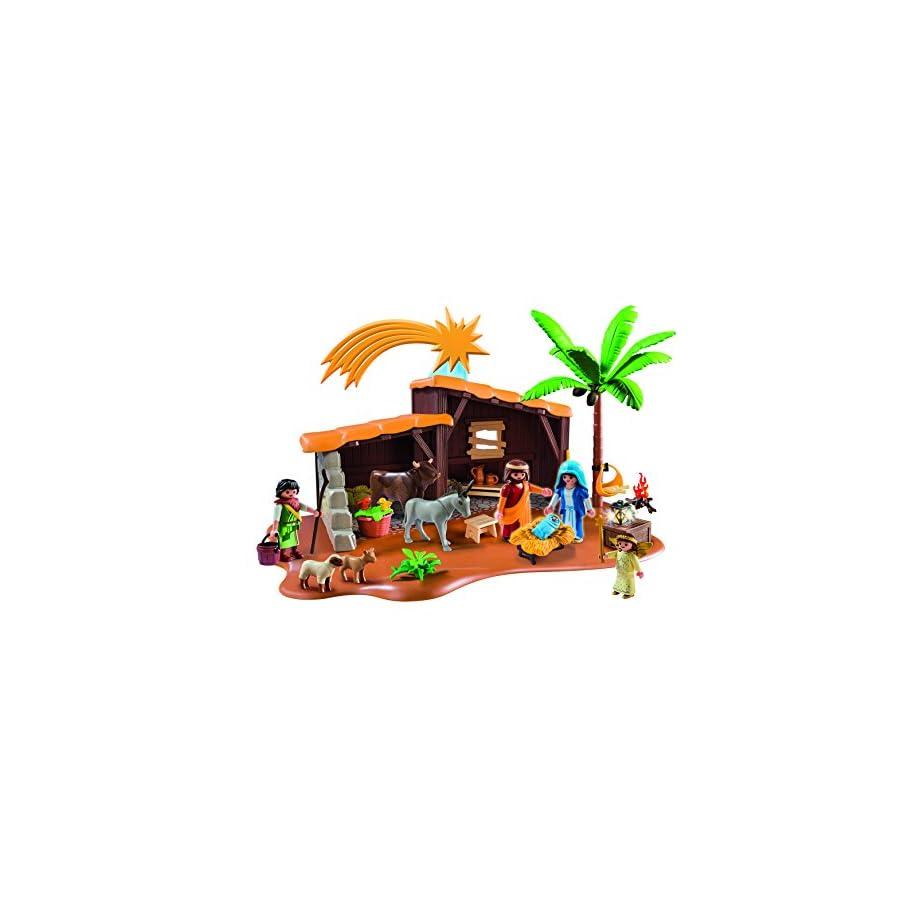 e375b35a090 Playmobil Nacimiento Set de Portal con Pesebre