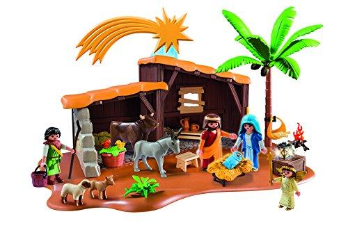 0e61efbfc84 Amazon - Playmobil Nacimiento Set de Portal con Pesebre