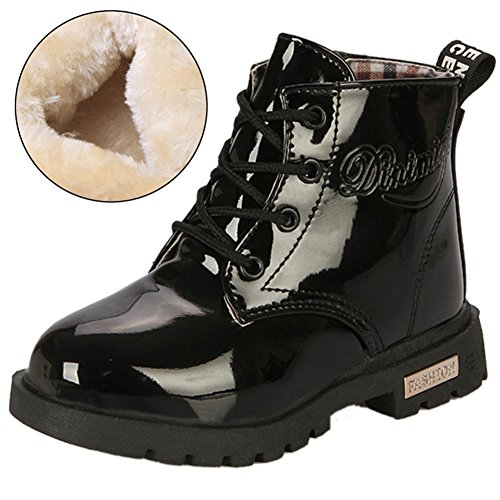 Femizee Boys Girls Ankle Waterproof Boot,Kid Rain Boot Shoes(Toddler/Little Kid)
