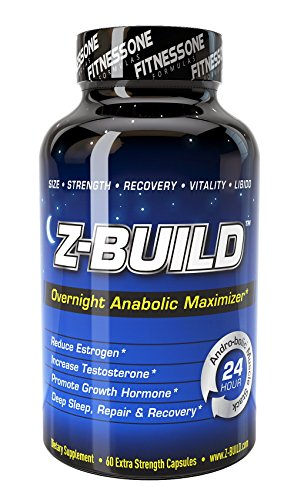 Z-BUILD--OVERNIGHT MUSCLE BUILDER--60 Ca - Sleep Booster Shopping Results