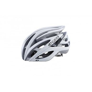 Giro Atmos - Casco, color azul y blanco blanco Matt White/Silver Talla: